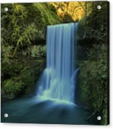 Lower South Falls Landscape Acrylic Print