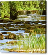 Lower Tahquamenon Falls 6128 Acrylic Print
