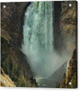 Lower Waterfalls Acrylic Print