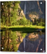 Lower Yosemite Morning Acrylic Print