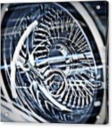 Lowrider Wheel Illusions 1 Acrylic Print