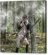 Loyalist Skirmisher  American Revolution Acrylic Print by Randy Steele