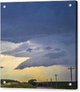 Lp Nebraska Storm Cells 005 Acrylic Print