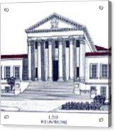 Lsu Old Law Building Acrylic Print