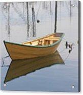 Lttle Row Boat Acrylic Print