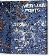 Lube Port Acrylic Print