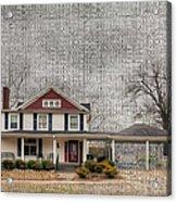Lucas House Acrylic Print