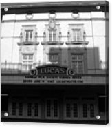 Lucas Movie House 1921 Acrylic Print