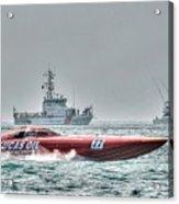 Lucas Oil Superboat Race Acrylic Print