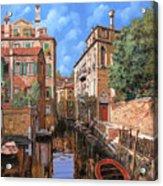Luci A Venezia Acrylic Print