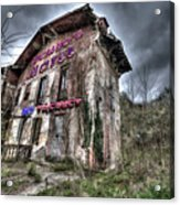 Luciano's Motel Acrylic Print
