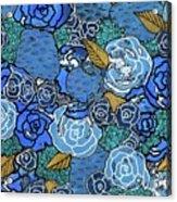 Lucia's Flowers Acrylic Print