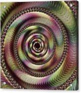 Lucid Hypnosis Abstract Wall Art Acrylic Print