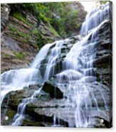 Lucifer Falls In Robert H. Treman State Park Acrylic Print