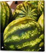 Lucious Watermelon Acrylic Print