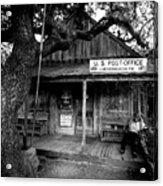 Luckenbach Texas Acrylic Print