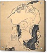 Lucky Gods HOTEI Acrylic Print