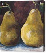 Lucky Pears Acrylic Print