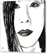 Lucy Liu Acrylic Print
