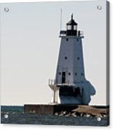 Ludington In The Cold Acrylic Print