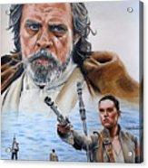 Luke And Rey Acrylic Print