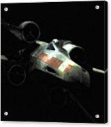 Luke's Original X-wing Acrylic Print by Micah May