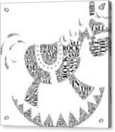 Lullaby Rock Acrylic Print