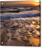 Lumaha'i Dawn Acrylic Print by Mike  Dawson