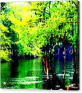 Lumber River II Acrylic Print