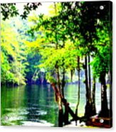 Lumber River Acrylic Print