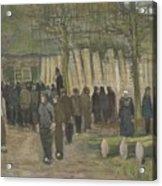 Lumber Sale Nuenen  January 1884 Vincent Van Gogh  1853  1890 Acrylic Print