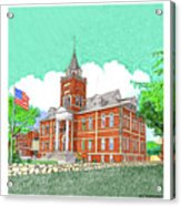 Luna County Court House  Deming  N M   Acrylic Print