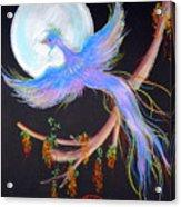 Luna Phoenix Acrylic Print