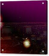 Luna Vegas Acrylic Print