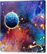 Luna Violet Acrylic Print