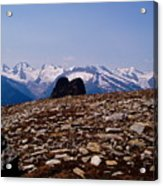 Lunar Landscape In The Mountains Acrylic Print