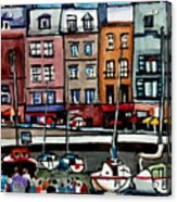 Lunch At The Harbor Acrylic Print