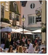 Lunch In Brighton Acrylic Print by Trevor Wintle