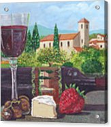 Lunch In Provence Acrylic Print