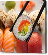 Lunch With  Sushi  Acrylic Print