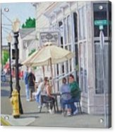 Lunchtime In Florence, Or Acrylic Print