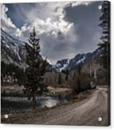 Lundy Lake Road Acrylic Print