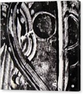 Lune Noire Acrylic Print