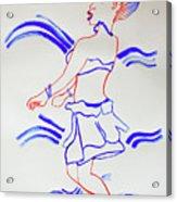 Luo Dance Acholi Tribe Uganda Acrylic Print