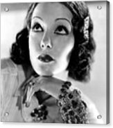 Lupe Velez, Mgm, 1933, Photo Acrylic Print by Everett