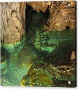 Luray Caverns - Wishing Well - Virginia Acrylic Print