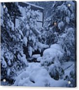 Luscious Snowfall Acrylic Print