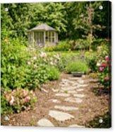 Lush Landscaped Garden Acrylic Print