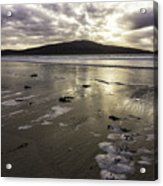 Luskentyre Beach Sunset Acrylic Print