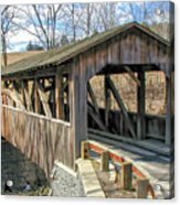 Luther Mills Bridge Acrylic Print